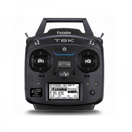 Radio Futaba 6K + R3006SB...