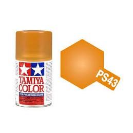 PS43 orange translucide