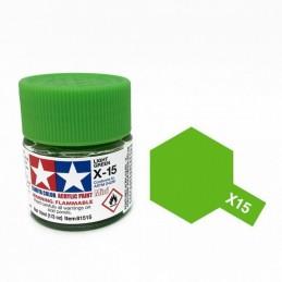 X15 Vert Pâle brillant