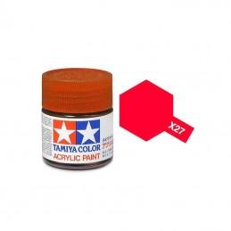X27 Rouge translucide