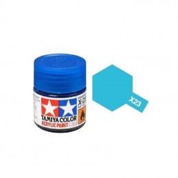 X23 Bleu translucide