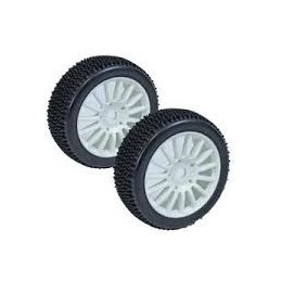 ROUES OVAL 1/8 BLANCHES