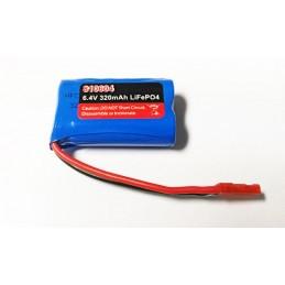 Batterie LiFePo4 320mAh 6,4V