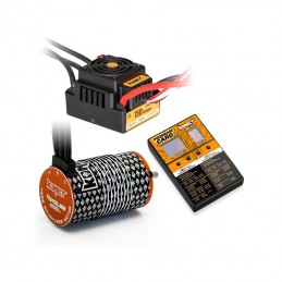 COMBO BRUSHLESS 1/8 150AMP...
